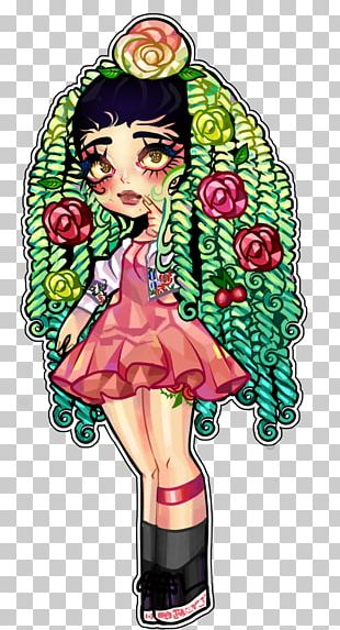 Illustration Animated Cartoon Flowering Plant Female PNG