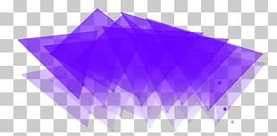 Purple Geometric Shape PNG