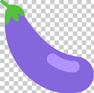 Emojipedia Eggplant Vegetable Dictionary PNG