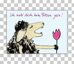 Greeting & Note Cards Ich Hab Dich Cartoon Ovis Love PNG