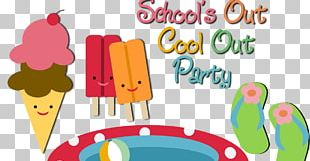 School's Out Party PNG