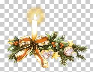 Christmas Candle PNG