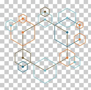 Colored Hexagon PNG