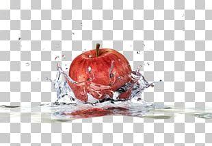Apple Stock Photography Water Splash PNG