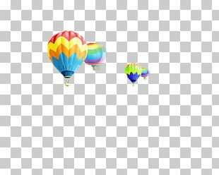 Hot Air Ballooning Light PNG