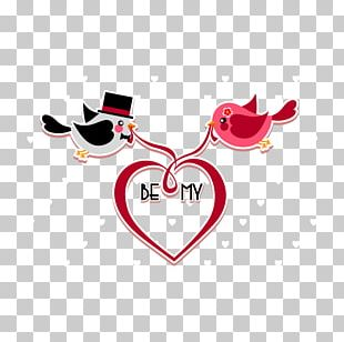 Valentine's Day Heart Euclidean PNG