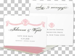 Wedding Invitation Save The Date Paper Post Cards PNG