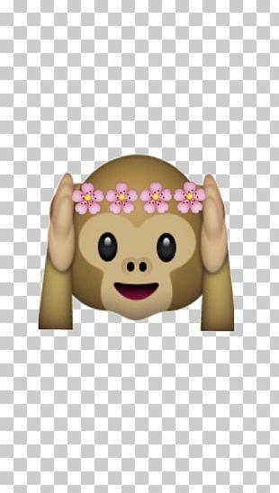 Emoji Emoticon Three Wise Monkeys T-shirt PNG