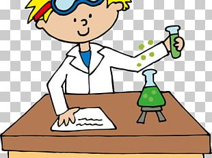 Science Project Scientist Illustration PNG