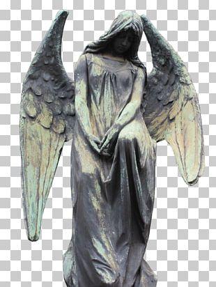 Statue Classical Sculpture Figurine Angel M PNG