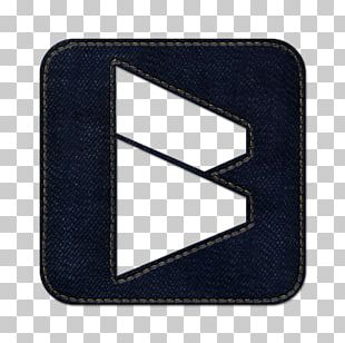 Blue Angle Symbol Wallet PNG