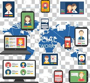 Social Media Social Network Facebook Computer Network Icon PNG