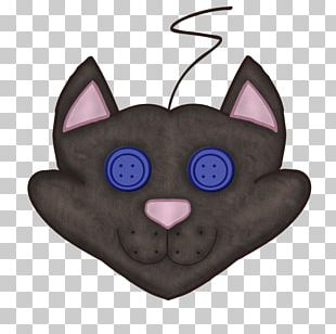 Whiskers Cat Snout Cartoon PNG