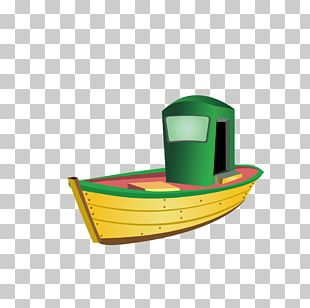 Yellow Boat PNG