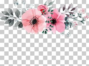 Watercolor Painting Flower Drawing Floral Design PNG