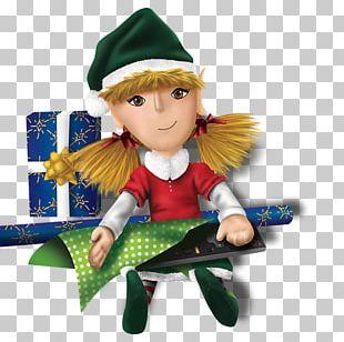 Lutin Santa Claus Père Noël Christmas Doll PNG