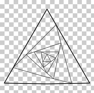 Penrose Triangle Sacred Geometry Golden Triangle PNG