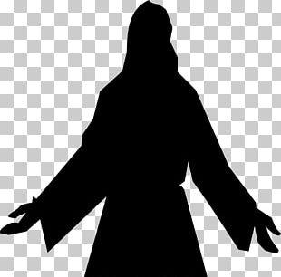 Depiction Of Jesus Silhouette Child Jesus PNG