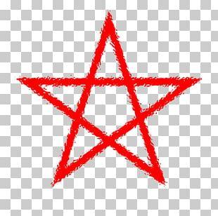 Pentagram Pentacle Wicca Altar PNG