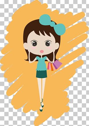 Woman Shopping Bag PNG