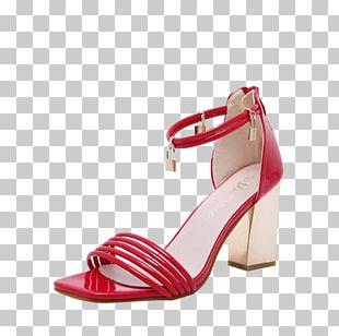Heel Sandal Shoe Clothing Handbag PNG