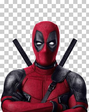 Deadpool Arms Crossed PNG