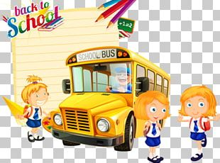 School Bus Car School Bus PNG
