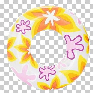 Swim Ring Inflatable Armbands Beach Swimming PNG