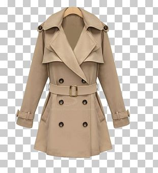 Trench Coat Clothing Overcoat Double-breasted PNG