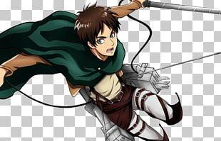 Eren Yeager Attack On Titan Mikasa Ackerman Manga Art PNG