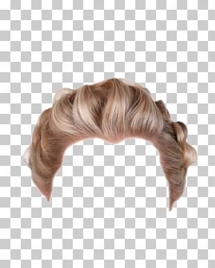 Hairstyle Wig Blond PNG