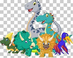 Cartoon Jurassic Dinosaur PNG