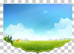 Spring Background Poster PNG