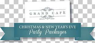 Restaurant Cafe Menu Christmas Day Party PNG