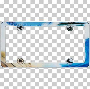 Vehicle License Plates Car Plastic Rectangle PNG