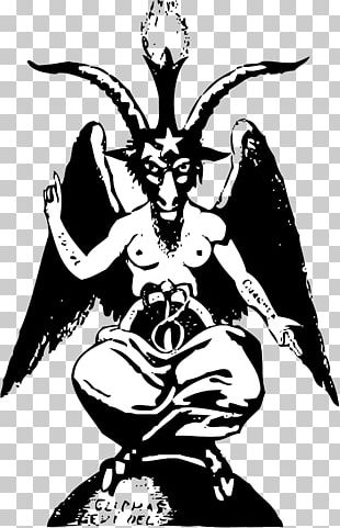 Baphomet Theistic Satanism Church Of Satan Symbol PNG
