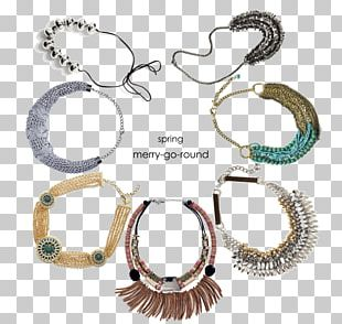 Earring Necklace Jewellery Collar Gold PNG