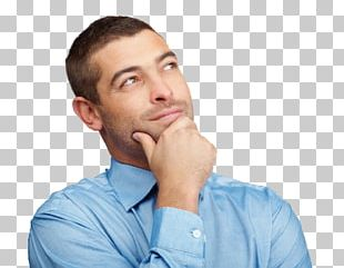 Man Thinking Thought PNG