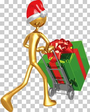 Christmas Ornament Gift Santa Claus New Year PNG