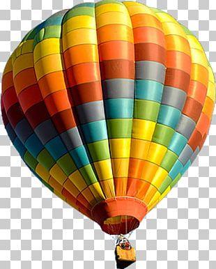 Flight Hot Air Balloon Festival Greeting Card PNG