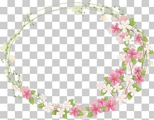 Frame Flower PNG