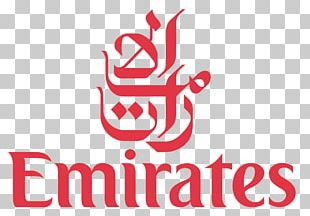 Dubai Airbus A380 Emirates Airline Logo PNG
