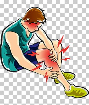 Leg Knee Pain Podalgia PNG