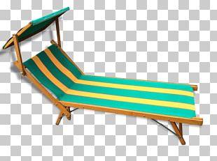 Chaise Longue Deckchair Fauteuil Garden PNG
