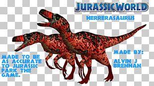 Velociraptor Jurassic Park: The Game Herrerasaurus Jurassic World Evolution Triceratops PNG