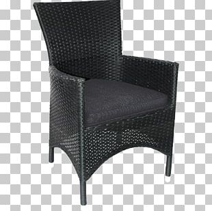 Garden Furniture Wing Chair Polyrattan PNG