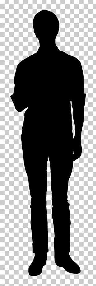 Silhouette Person PNG