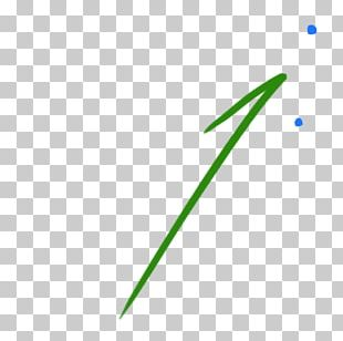 Line Point Angle Green Font PNG