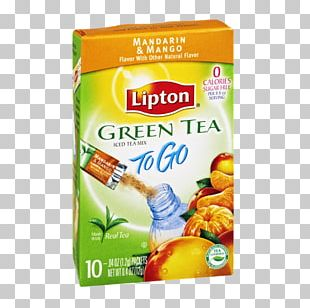 Iced Tea Green Tea Food Lipton PNG