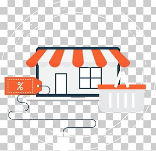 Supermarket E-commerce Online Shopping PNG